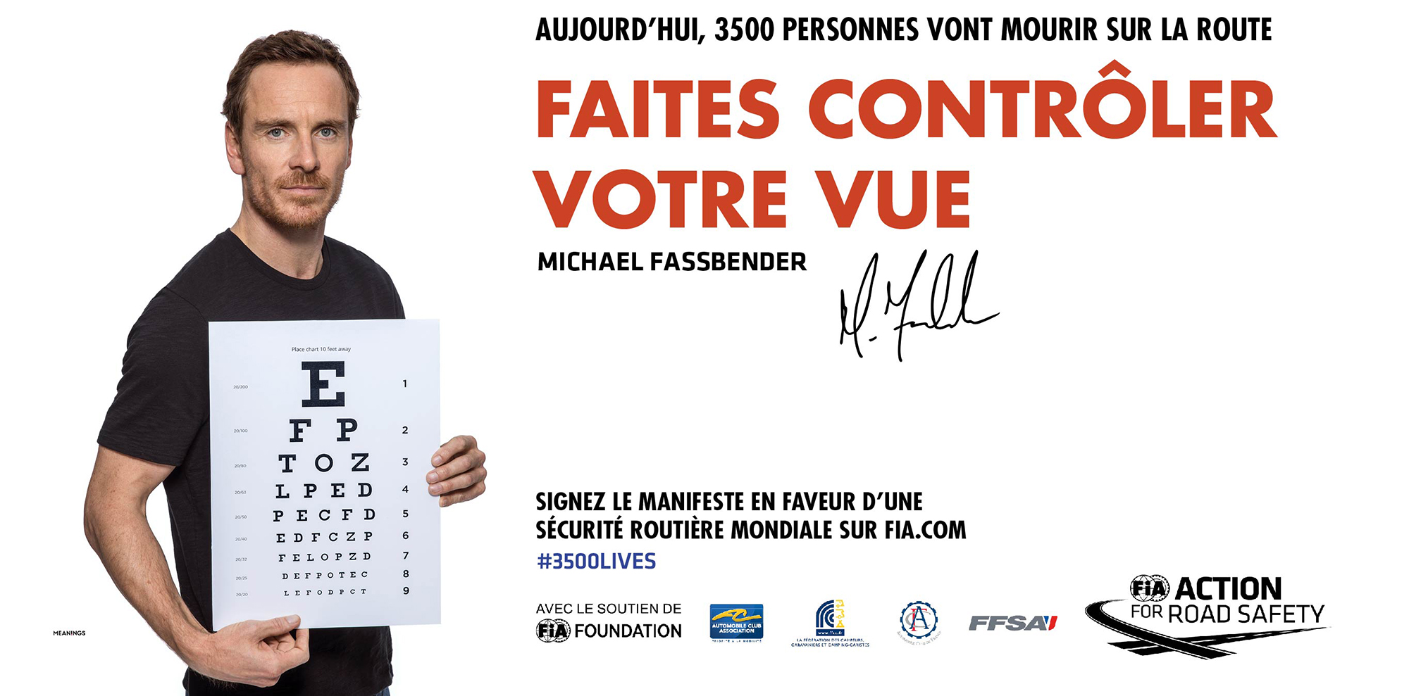 FIA Campagne MichaelFassbender