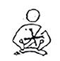 Symbole exemption ceinture enfant