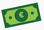 Icone de billet de banque