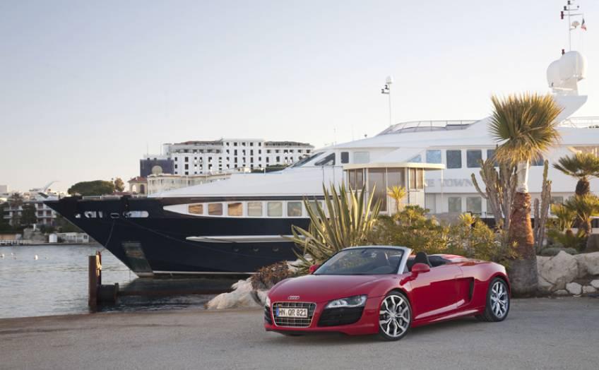 Solsol Association R8 SpyderMissile Audi Automobile Club 76bfgy