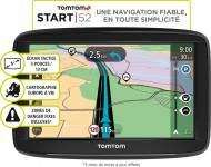 GPS TomTom START 52 - Europe - Port inclus