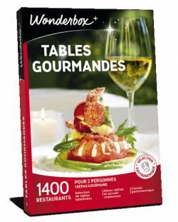 Coffret cadeau - Tables gourmandes
