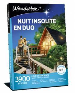 Coffret cadeau - Nuit insolite en duo