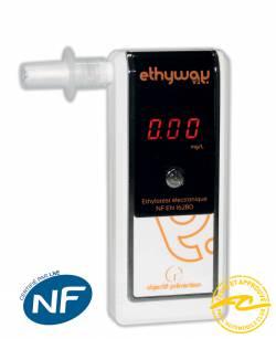 Ethylotest électronique Ethyway NF (Nouveauté)