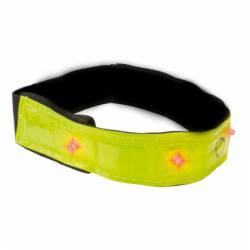 Bracelet réfléchissant à LED