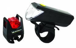 Kit feux vélo LED avant + arrière