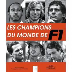 Livre LES CHAMPIONS DU MONDE F1