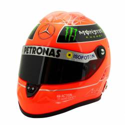CASQUE MICHAEL SCHUMACHER Echelle 1/2