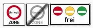 panneaux zones environnementales