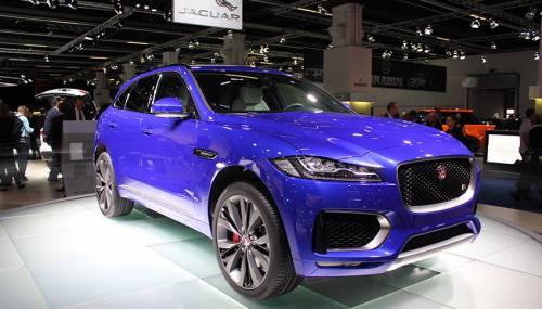 Francfort 2015 jaguar f pace macan dans le viseur - Controle technique pace ...
