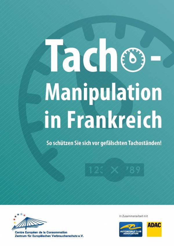 Merkblätter Tachomanipulation DE