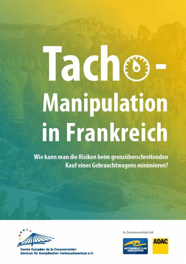 Studie Tachomanipulation DE 1